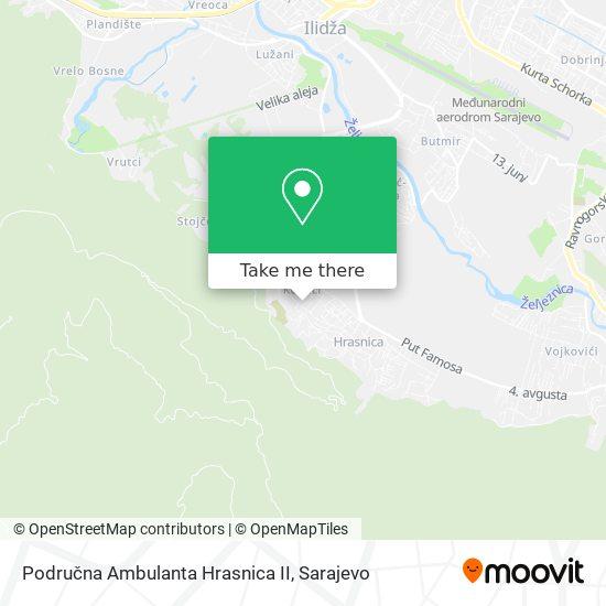 Ambulanta Kovači map