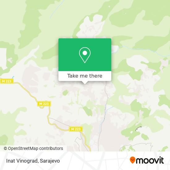 Inat Vinograd map