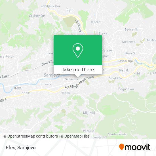 Efes map