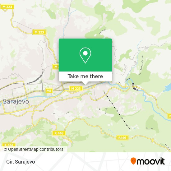 Gir map