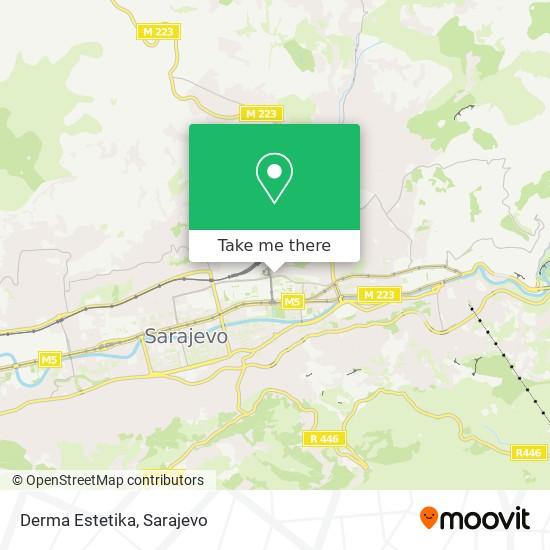 Derma Estetika map