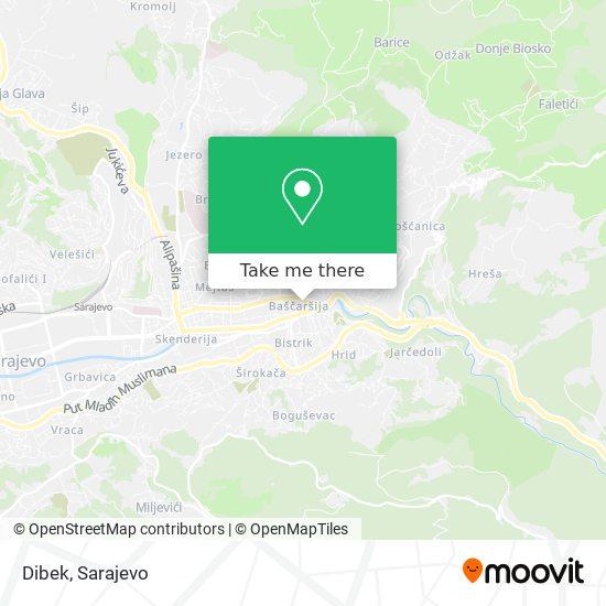 Dibek map