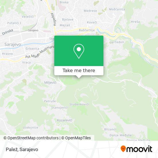 Zlatište map