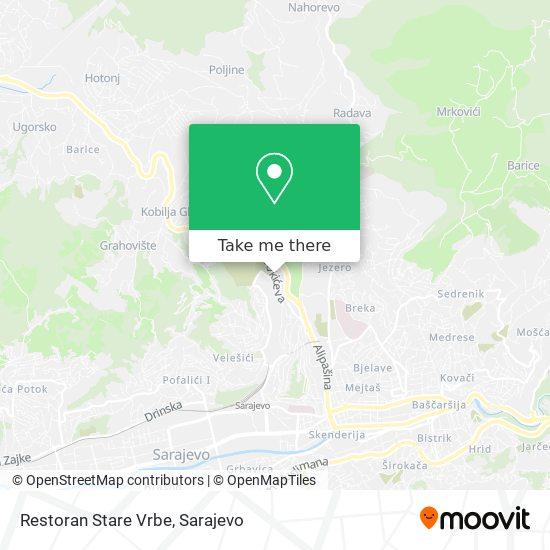 Restoran Stare Vrbe map