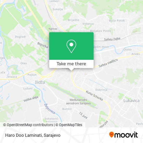 Haro Doo Laminati map