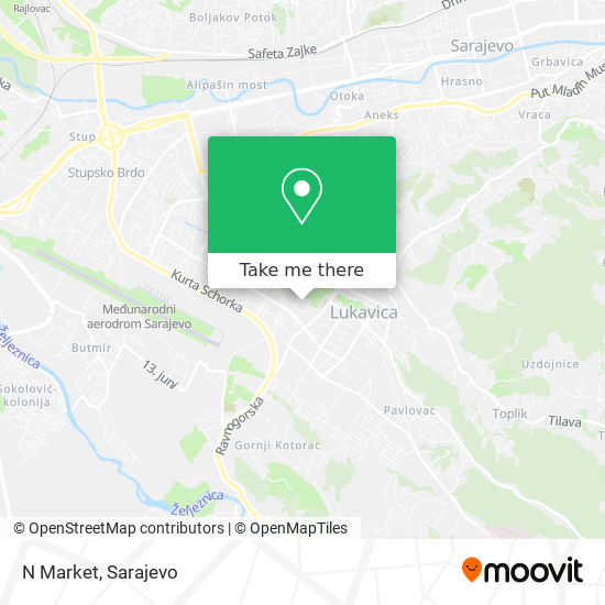 N Market map