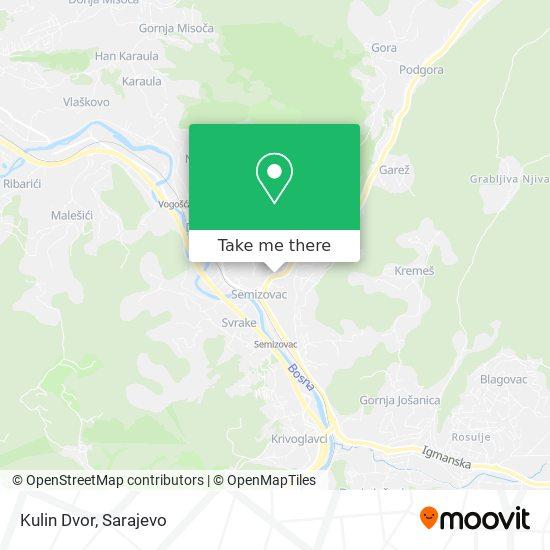 Kulin Dvor map