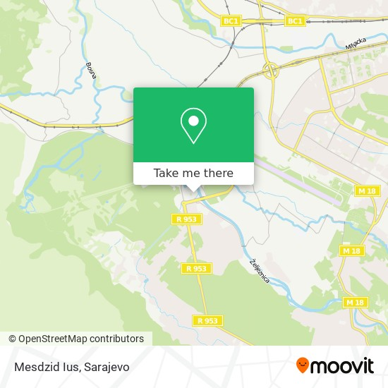 Mesdzid Ius map