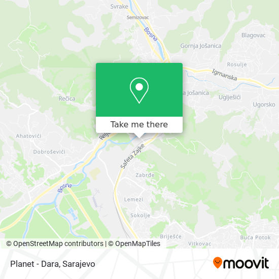 Planet - Dara map