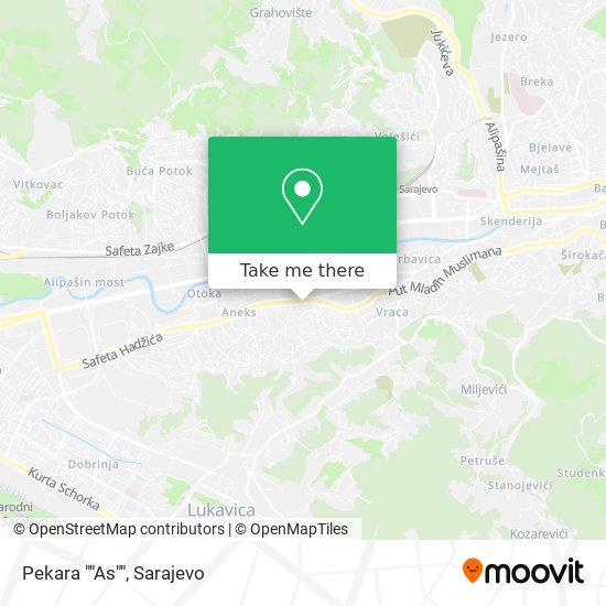 """Pekara """"As"""" map"""