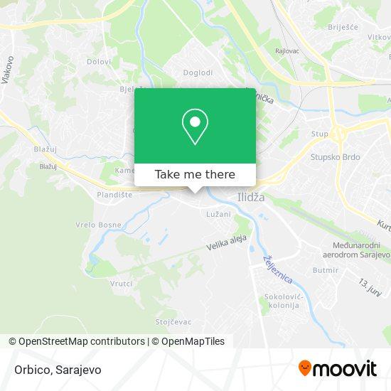 Orbico map