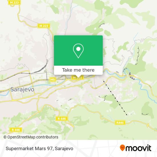 Supermarket Mars 97 map