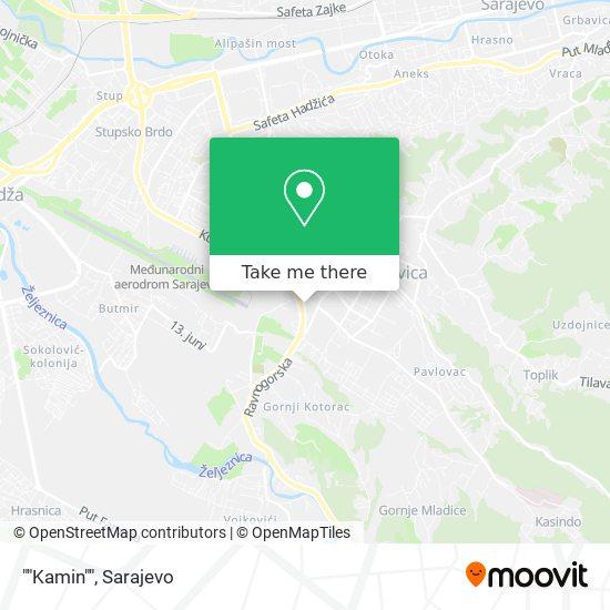 """""""Kamin"""" map"""