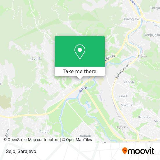 Sejo map