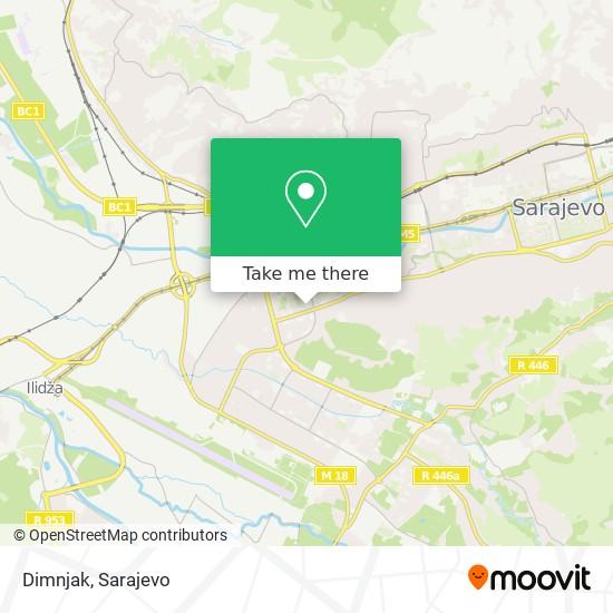 Dimnjak map