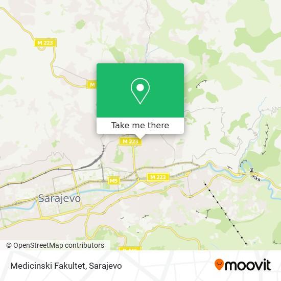 Medicinski Fakultet map