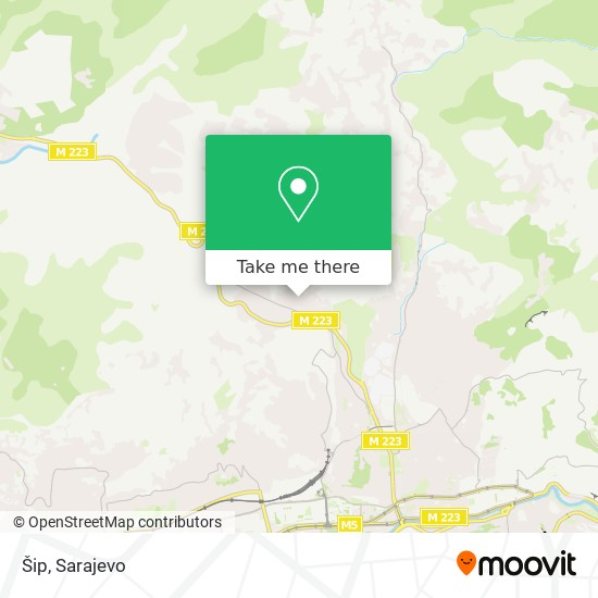 Šip map