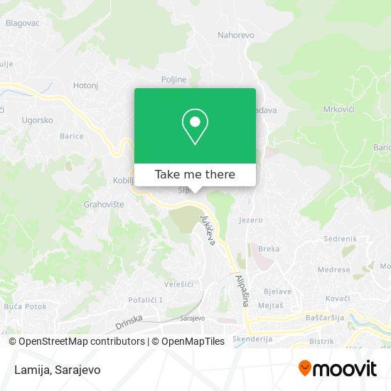 Lamija map