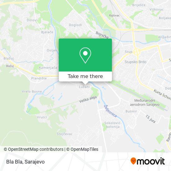 Bla Bla map