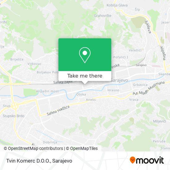 Natuzzi - Tvin Komerc D.O.O (Salon Namjestaja) map