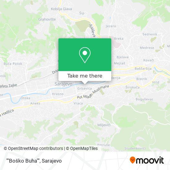 """Boško Buha"" map"