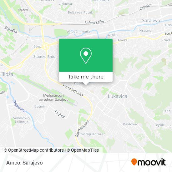 Amco map