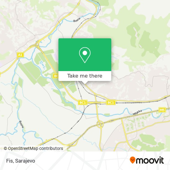 Fis map