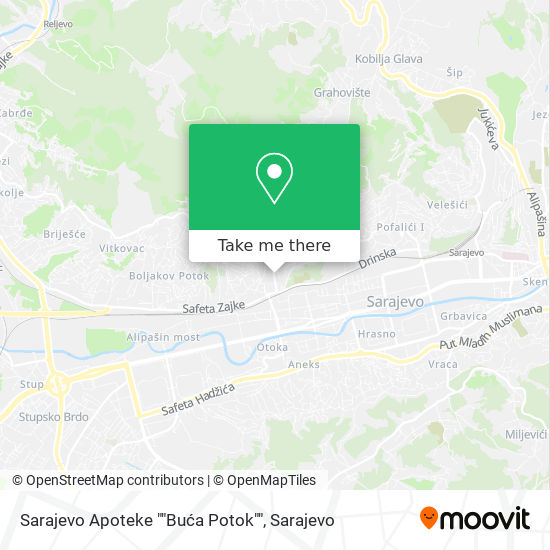 """Sarajevo Apoteke """"Buća Potok"""" map"""