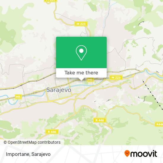 Importane map