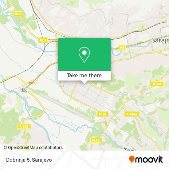 Dobrinja 5 map