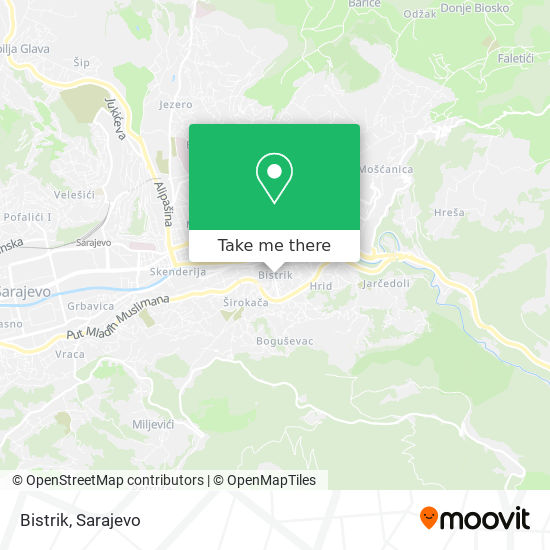 Bistrik map