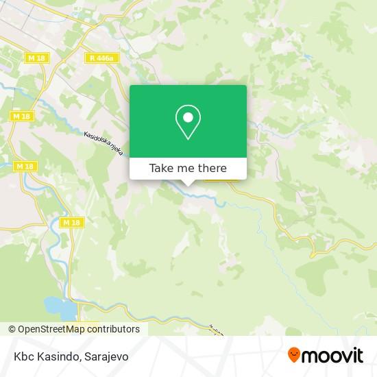 Kbc Kasindo map