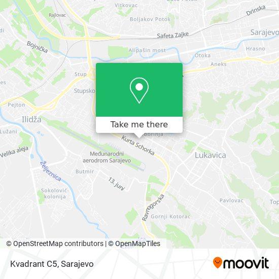 Dobrinja C5 map
