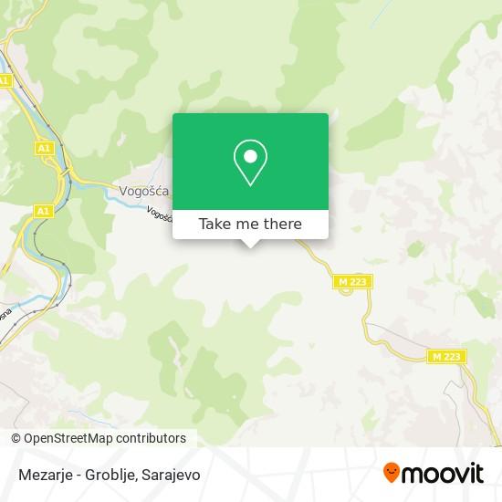 Mezarje - Groblje map