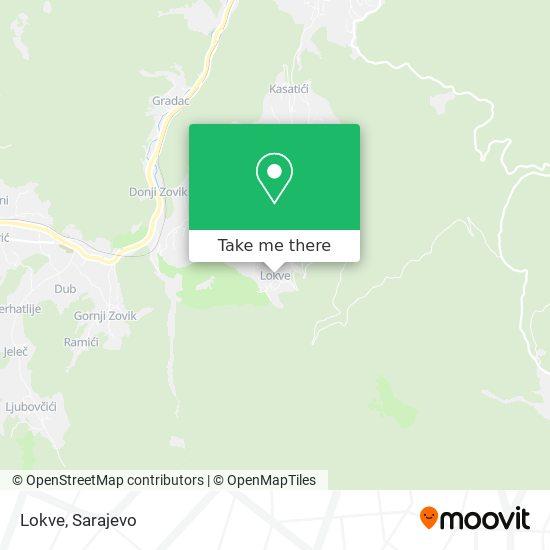 Lokve map
