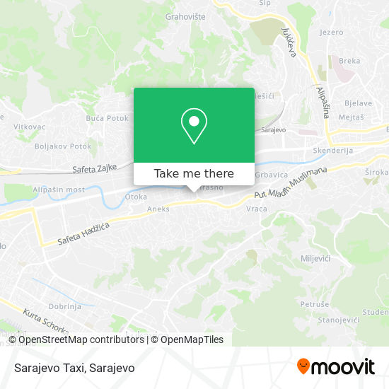 Taxi Dom map