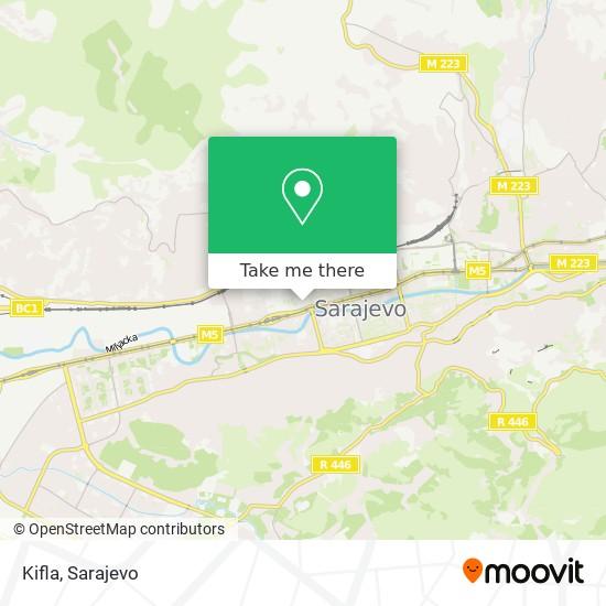 Kifla map