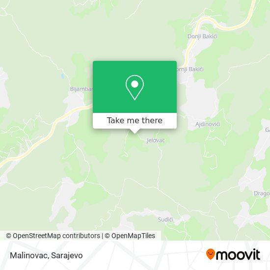 Malinovac map