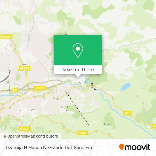 Džamija H.Hasan Než-Zade Dol map