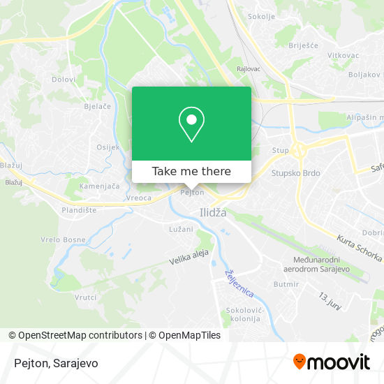 Pejton map