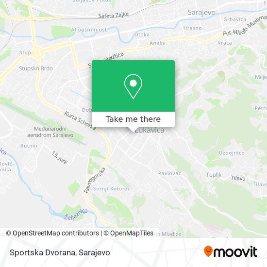 Sportska Dvorana map