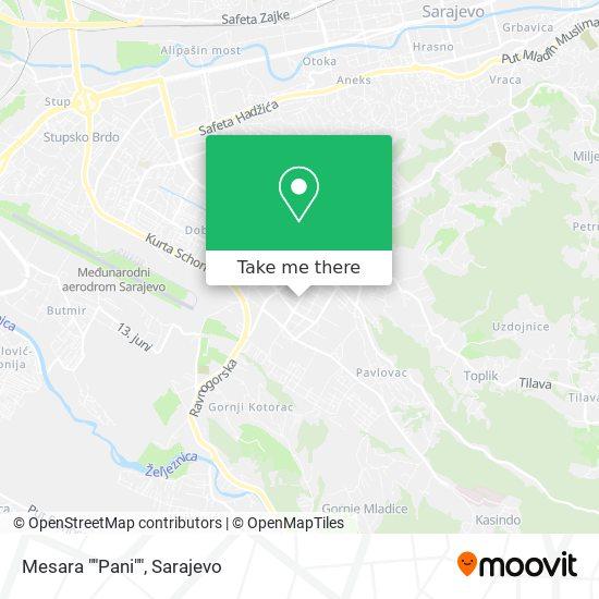 "Mesara ""Pani"" map"