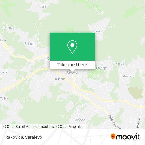 Rakovica map