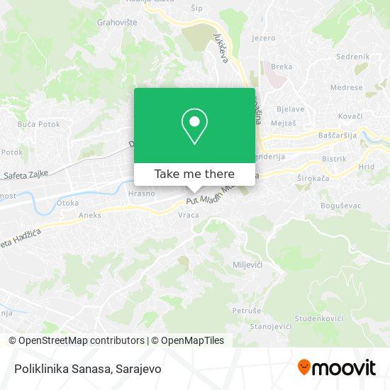 "Poliklinika ""Sanasa"" map"