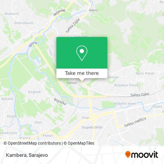 Kambera map