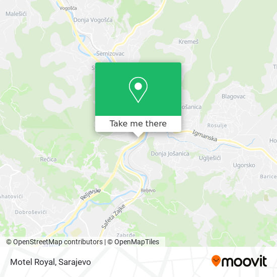 Restoran Royal map