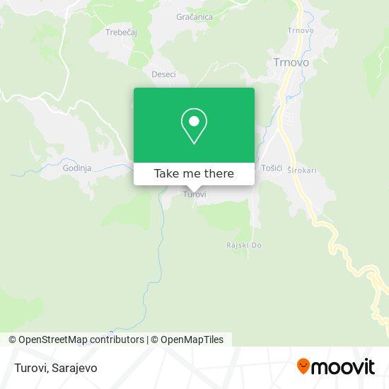 Turovi map
