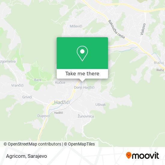 Agricom map