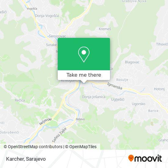 Karcher map