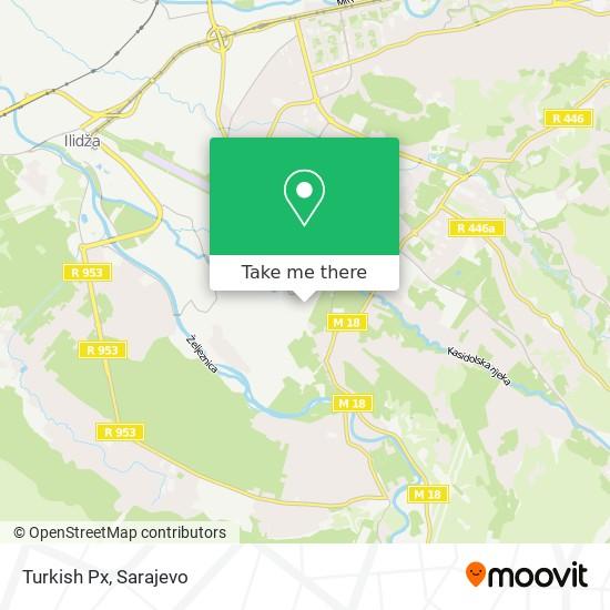 Turkish Px map